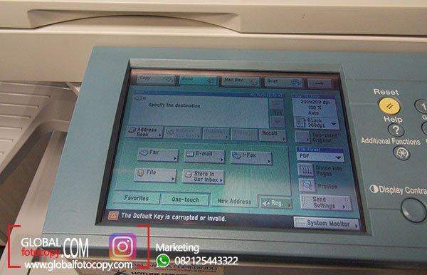 Cara Menyimpan Hasil Scan di Mesin Fotocopy